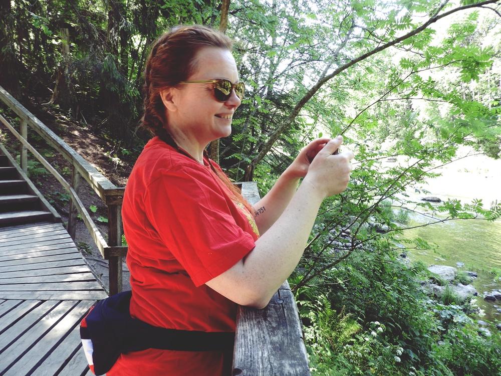 Ruutinkoski -Ihana kesäpäivä retkeillen
