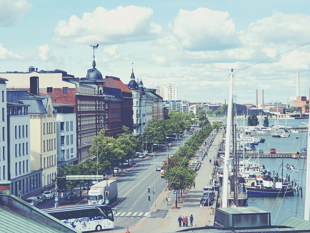 Turistina Helsingissä