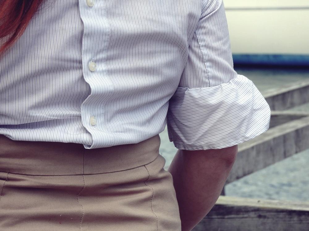 Ekstra korkeavyötäröiset housut