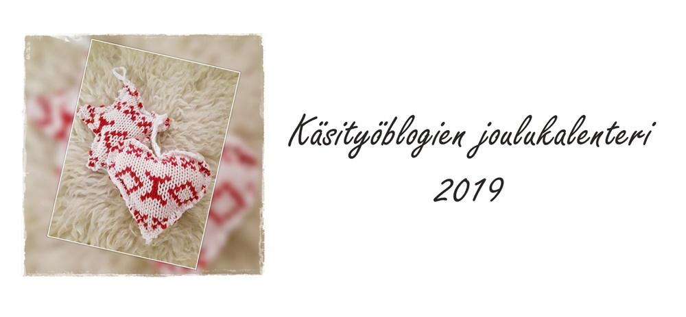 Käsityöblogien joulukalenteri
