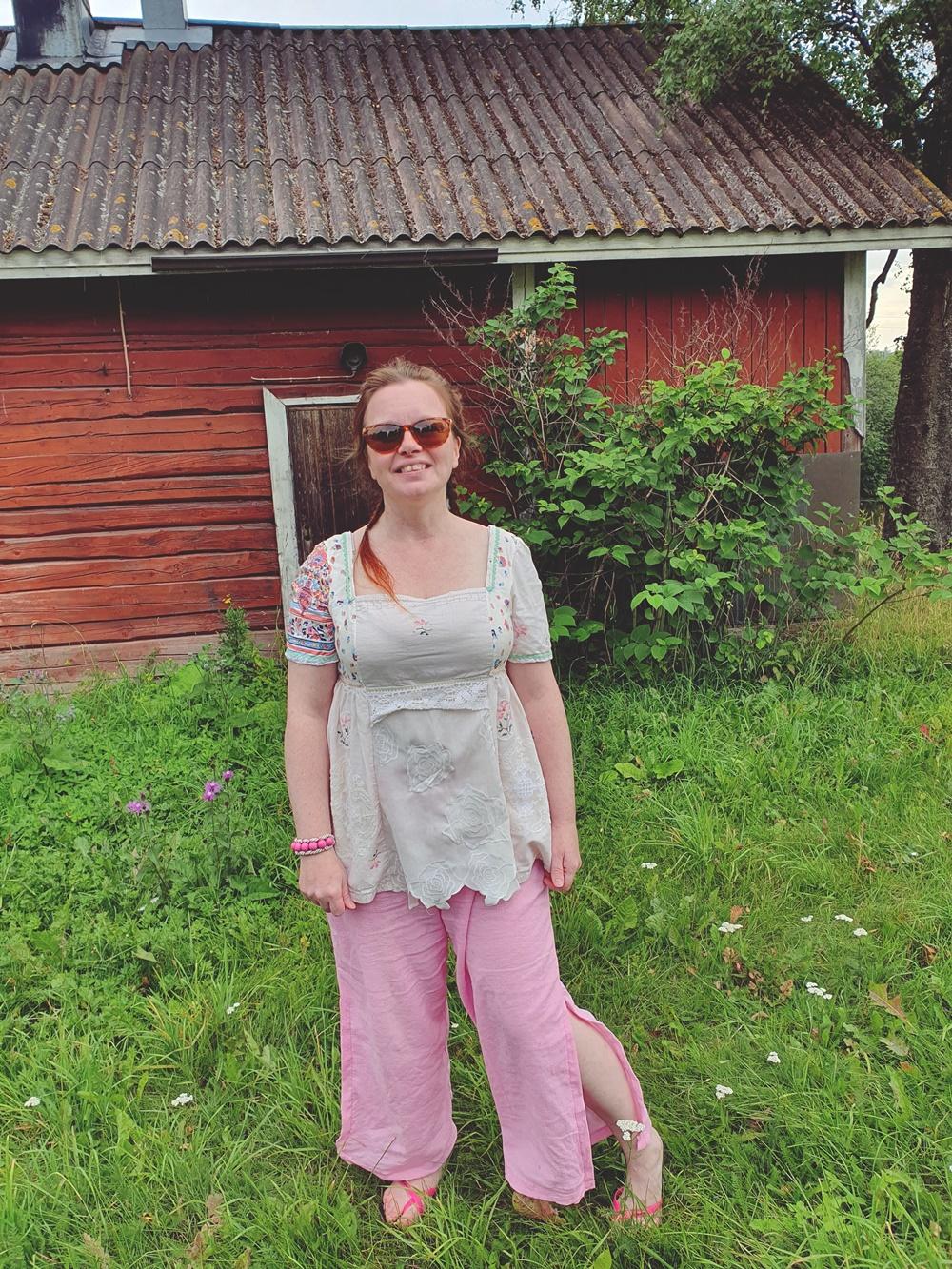 Viime kesän vaaleanpunainen unelma