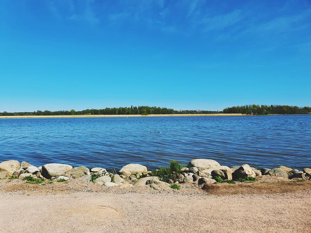 Pyöräretki Helsingin keskustaan