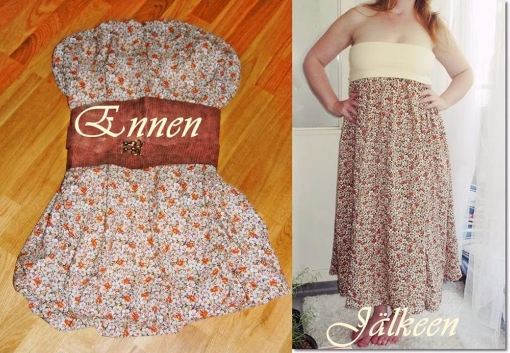 Vanha mekko uudeksi mekoksi