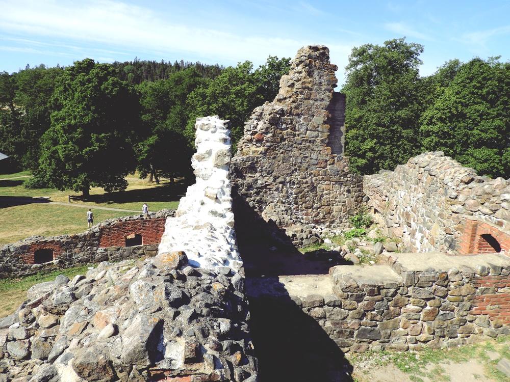 Kuusiston linnan rauniot